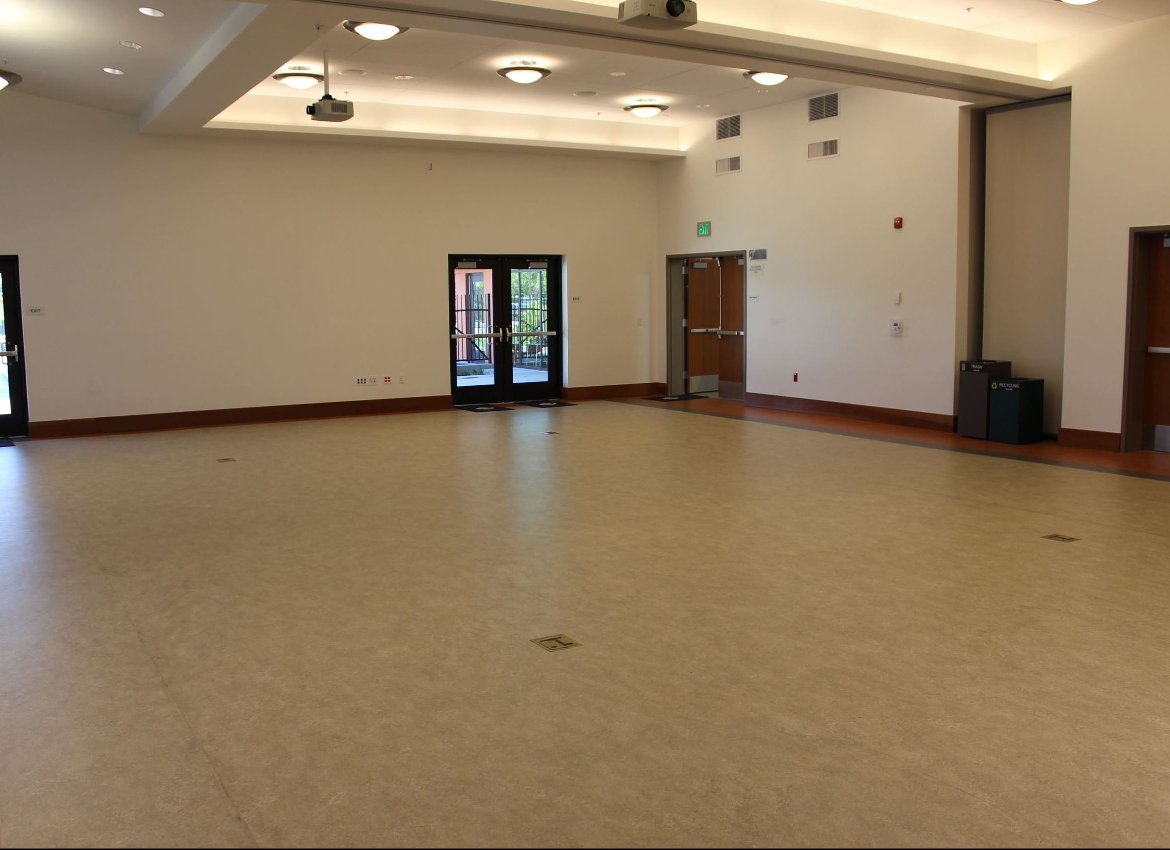 Inside Community Hall