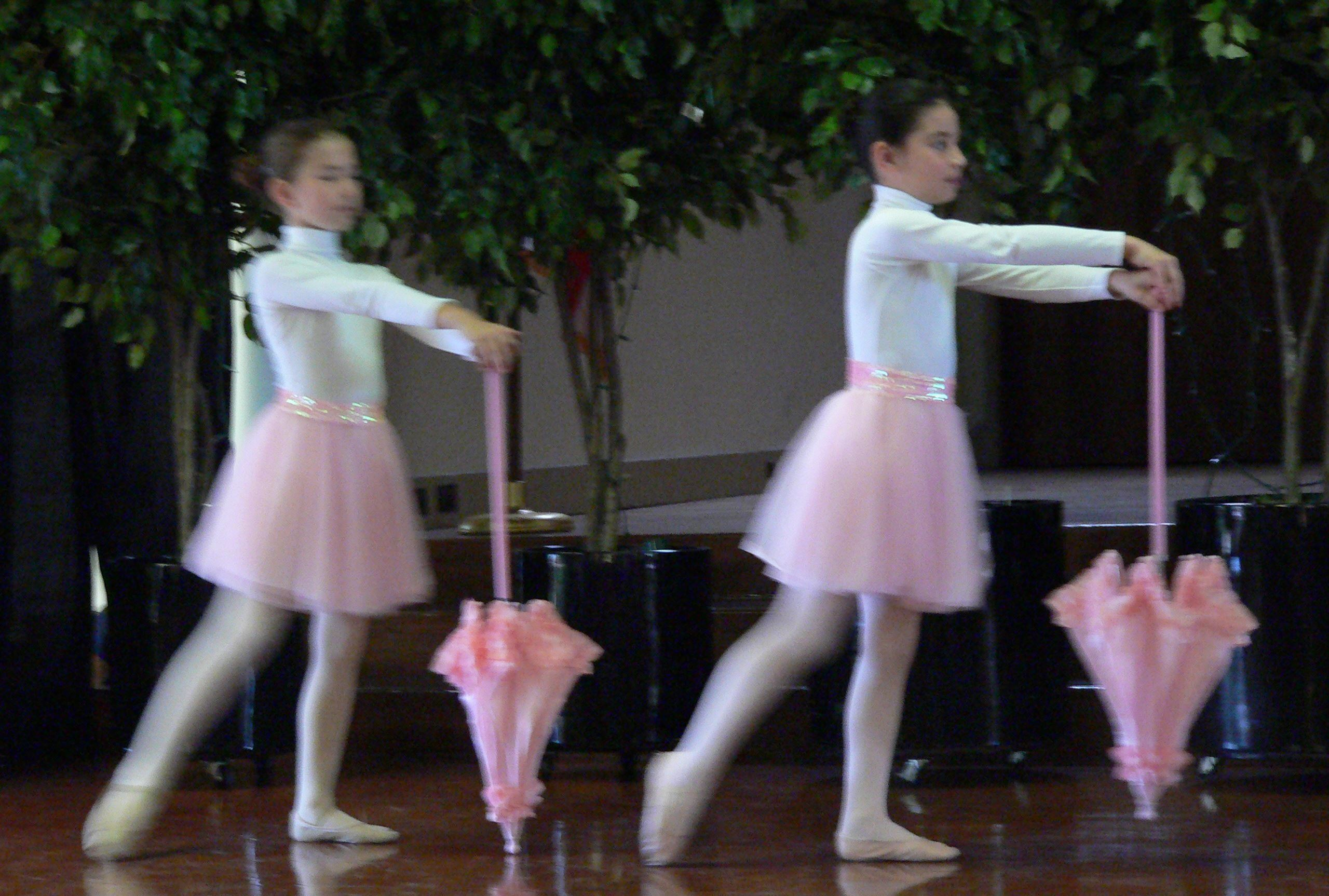 Ballet Showcase Participants Performing