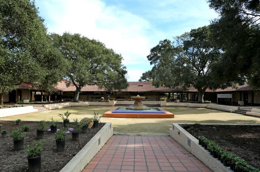 Maple Hall Courtyard