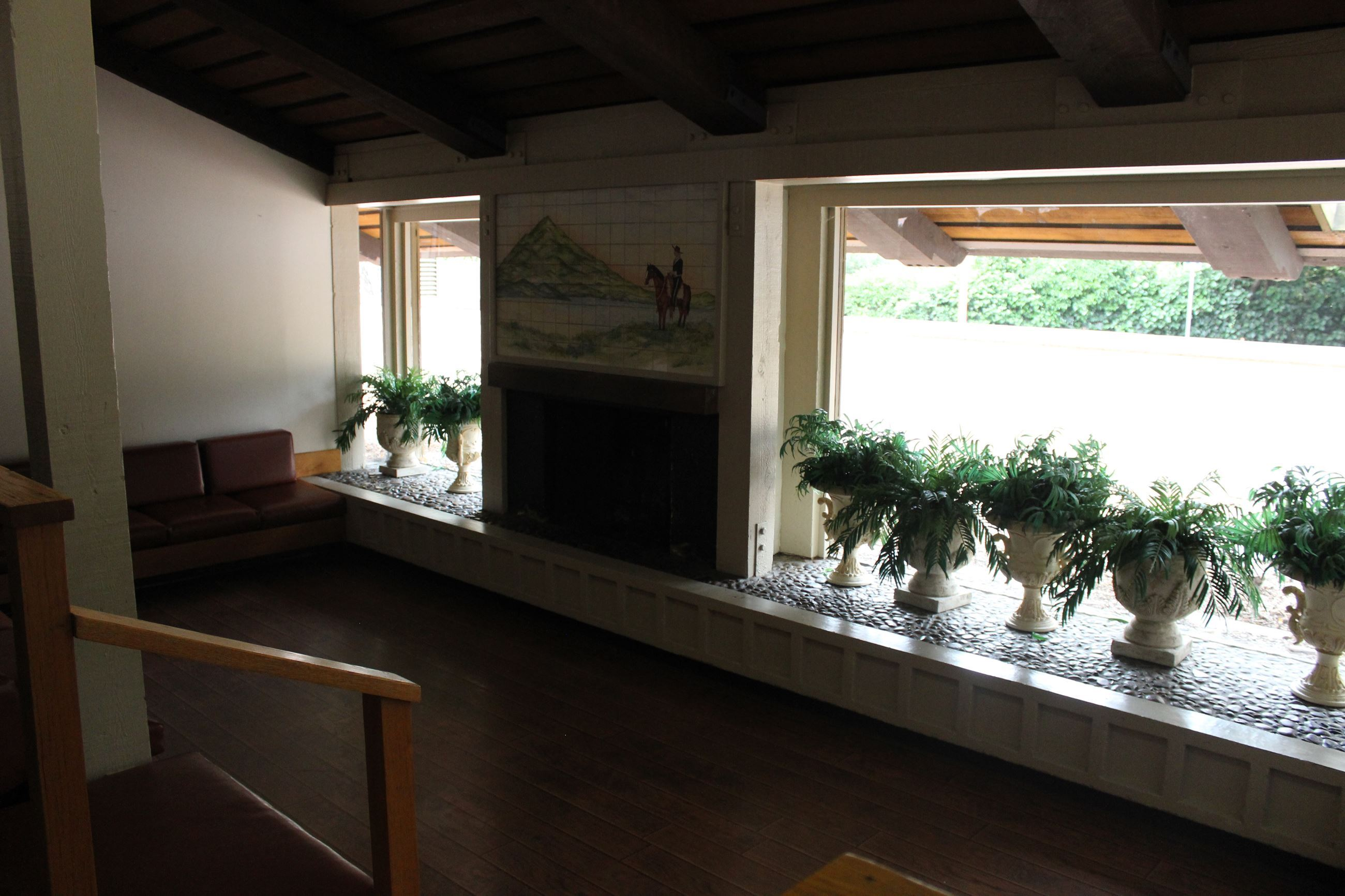 Fireplace Area in Maple Hall