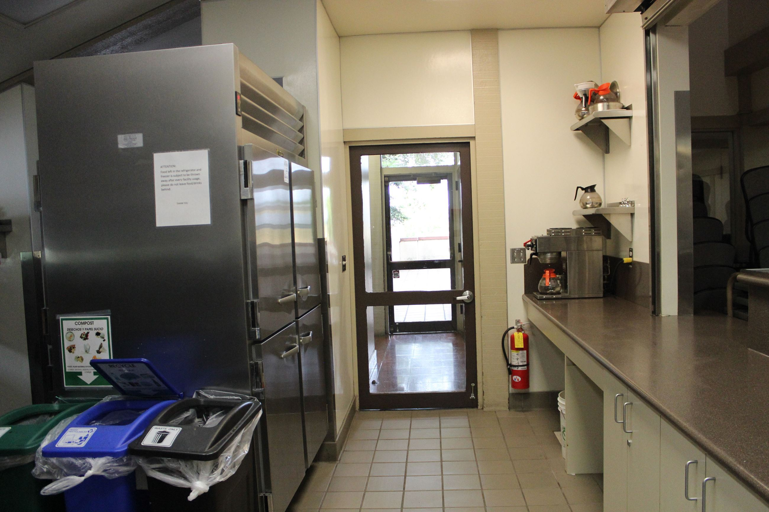 Kitchen Inside Maple Hall