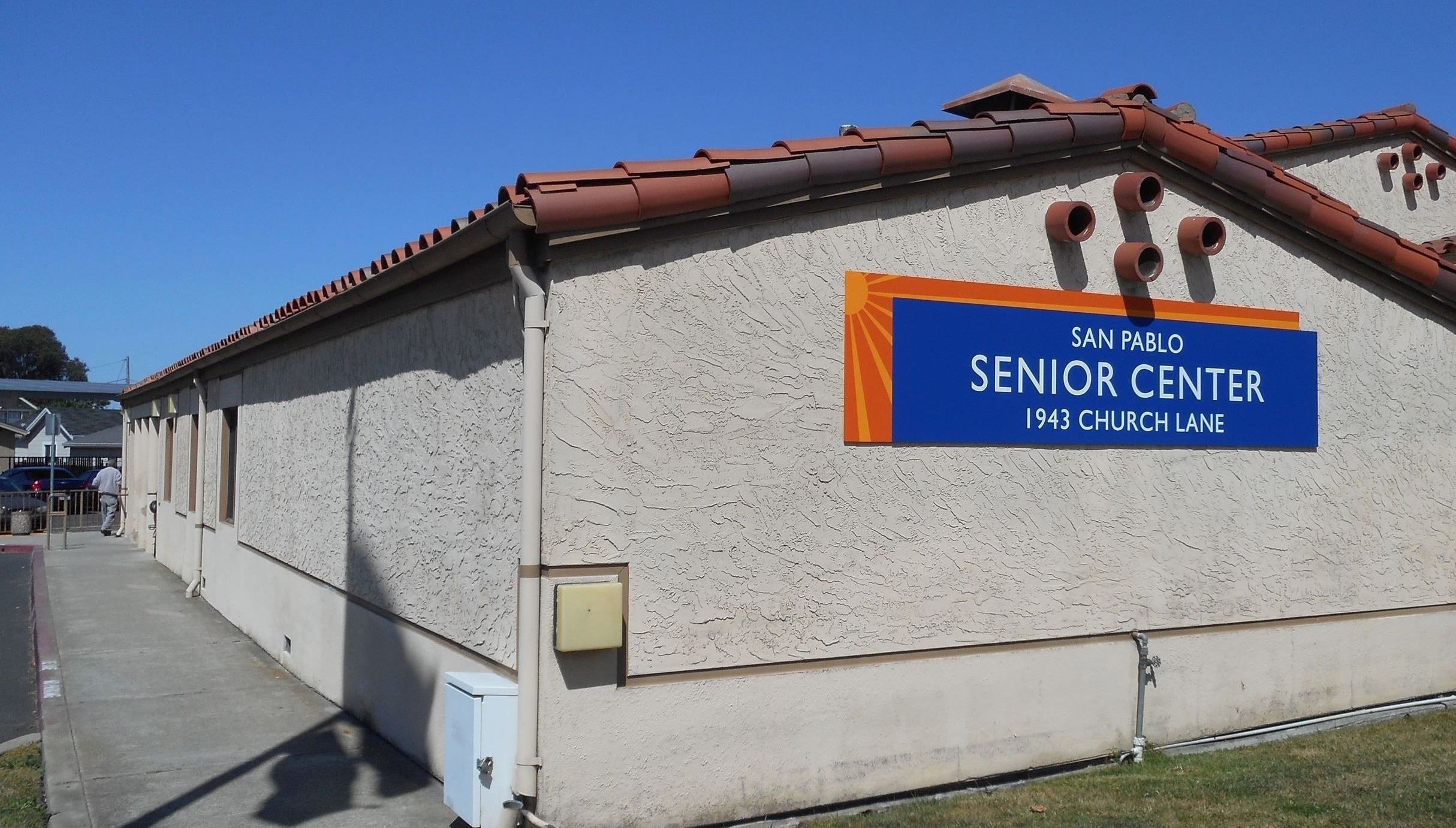 Outside of Church Lane Senior Center