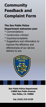 SPPD Complaint Form