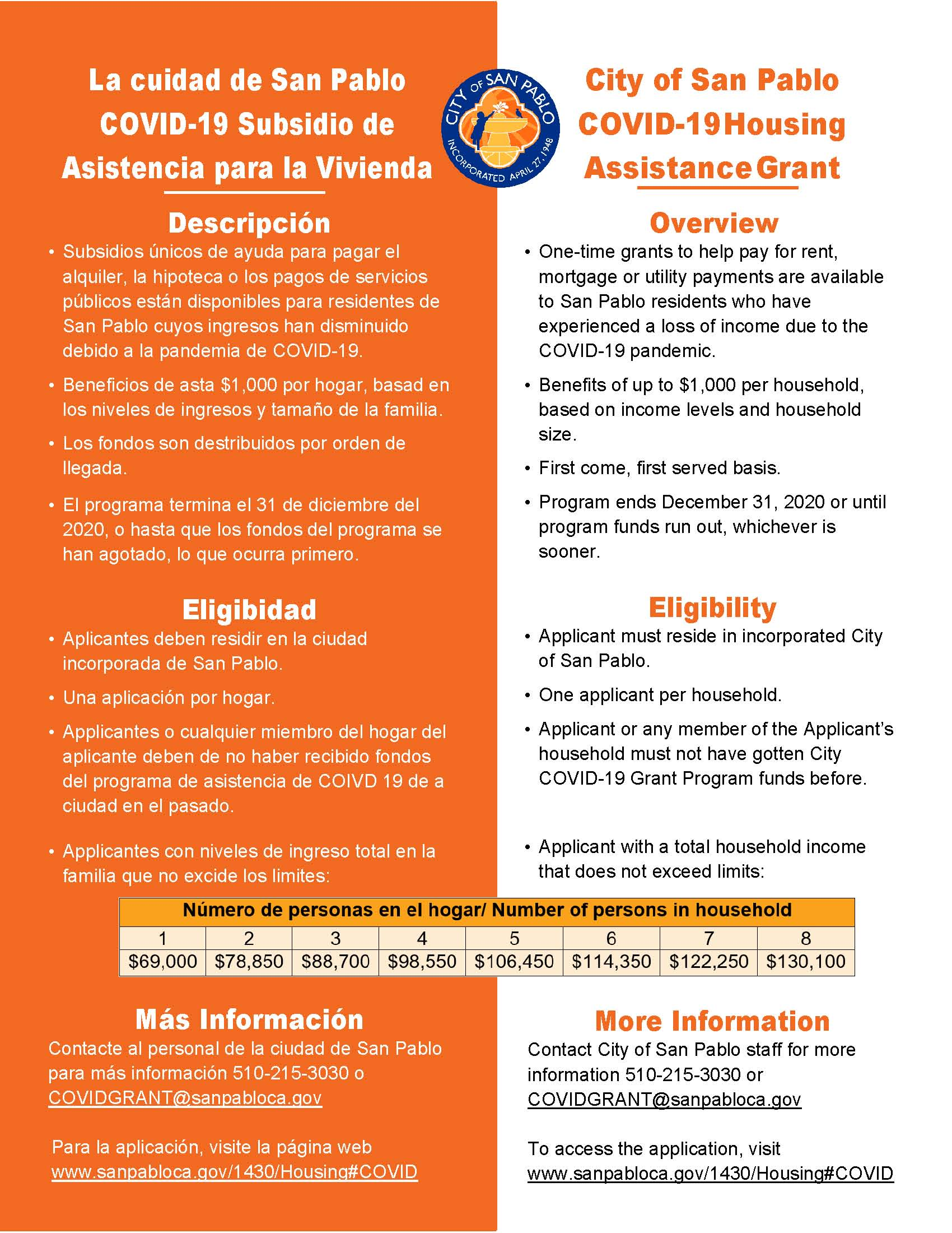 Housing Assistance Grant_FLYER