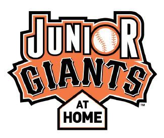 Jr Giants at Home Logo