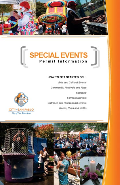 Special Event Info Brochure